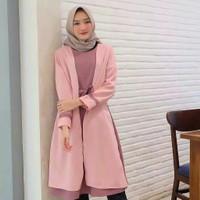 baju atasan tunik terbaru / Tunik / Atasan wanita - Pink