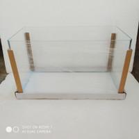 Akuarium Bending 63L 60x30x35cm Optic Clear Kandila