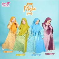Baju Gamis Anak Katun Jepang Usia 2-3th Misha Series by Paku Payung
