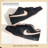 Sepatu Original Nike SB DUNK LOW PRO ISO Black Pink BNIB