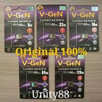 V-gen Micro SD Vgen 128GB 64GB 32GB 16GB 8GB A1 Class 10 TURBO SERIES