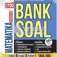 Buku 1700 BANK SOAL MATEMATIKA PEMINATAN SMA