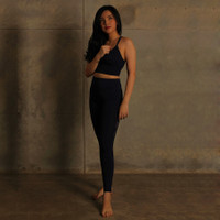 Setelan Baju Olahraga Senam Fitness Yoga SET1|Setelan Legging Bra Cewe