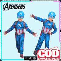 baju captain america anak kostum superhero anak baju superhero 255