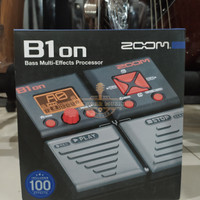 Zoom B1on Multi Effect Bass Pedal ,BMJ