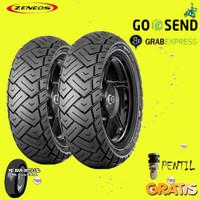 Paket Ban Motor VESPA ZENEOS MILANO 110/70-120/70 Ring 12 tubeless