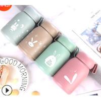 BKB Bunny Botol Air Minum Kaca Anak BPA Free