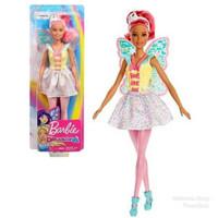 Boneka Barbie Mattel Dreamtopia Fairy Doll - Brunette Putri Duyung