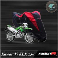 Cover / Sarung / Pelindung Motor KAWASAKI KLX 230 Fusion R Gen 1 - Merah