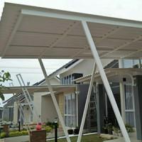 kanopi spandek/atap spandek murah