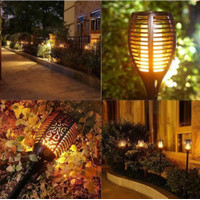 Lampu Solar Taman / Lampu Taman Obor Outdoor Tenaga Surya LED Otomatis