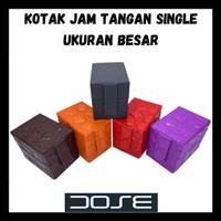 Kotak Jam Tangan Single Ukuran Besar Bahan Triplek Premium