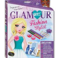 Glamour Girl Fashion Stylist Box Set, buku aktivitas anak perempuan