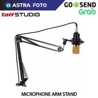 Taffware Arm Stand Mic / Microphone Suspensi Lazypod - Holder Mikrofon