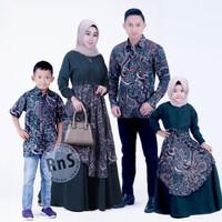 baju couple keluarga batik gamis