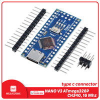 NANO V3 type c ATmega328P CH340 16 Mhz without cable