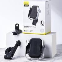BASEUS Armor Motorcycle Phone Holder Mount Motor Sepeda Bracket Braket