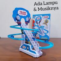 Mainan Track Seluncur Kereta Thomas Perosotan Rel Slide Anak Edukatif