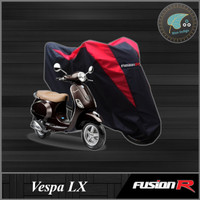 Cover / Sarung / Pelindung Motor VESPA LX Fusion R Gen 1 - Merah