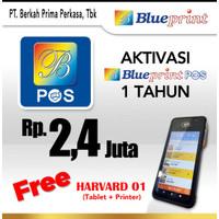 Paket Usaha / Aplikasi Kasir BLUEPRINT POS 1 Tahun Free Hardware