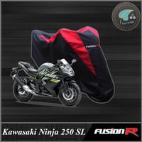 Cover / Sarung / Pelindung Motor KAWASAKI NINJA 250 SL Fusion R Gen 1 - Merah