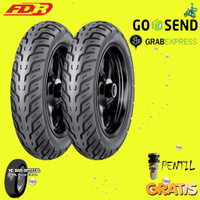 Paket Ban Motor SCOOPY/FREEGO FDR CITY GO 100/90-110/90 Ring 12 Tbls
