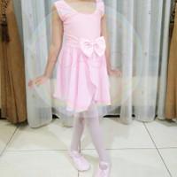 Baju Ballet Anak Rok Sifon Balet Set Wrapskirt Skirt