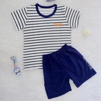 Baju Kaos Setelan Anak Laki-laki - Stripe