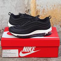 Sepatu Nike Air Max 97 Wmns Black/Black/White Original
