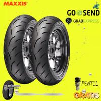 PAKET BAN MOTOR MATIC MAXXIS VICTRA 100/80 & 120/70 RING 14 TUBELESS