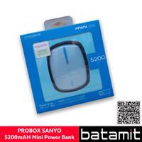 (batamit) PROBOX SANYO 5200mAh Mini Power Bank