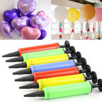 Pompa balon manual bagus murah bahan plastik warna