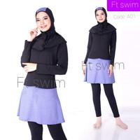 Baju renang wanita muslimah dewasa baju renang wanita remaja baju anak - A01, M