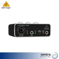 Behringer Audiophile 2X2 USB Audio Interface U-Phoria UM2