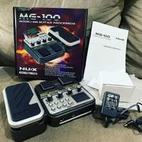 Efek gitar termurah ! NUX MG-100 original include adaptor
