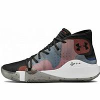 Sepatu Olahraga Basket Under Armour Spawn Mid Original Mens Shoes