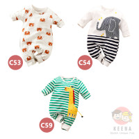 Baju Jumper Anak Bayi Karakter Binatang Kualitas Import (0-2 Tahun)