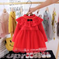 Dress Bayi Perempuan Cheongsam Pita