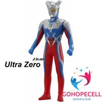 Ultraman Zero Jumbo 23 Cm Action Figure Bandai Ultra Heroes 500
