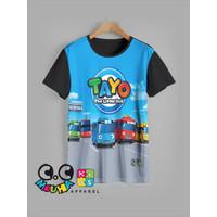 kaos anak TAYO baju anak TAYO v2 - 1-2 tahun