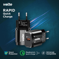 VOLTE RAPID Kepala Charger 1 port USB-A Charger Quick Charge 3.0