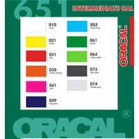 Bahan Sticker Oracal 651 Glossy / Doff