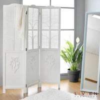 Sketsel pembatas ruangan minimalis putih dekorasi rumah modern