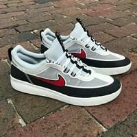 Sepatu Nike SB Nyjah Free 2 White Black Red Man Premium Original