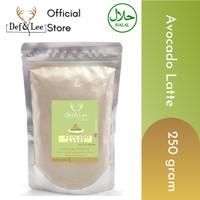 Avocado Latte Powder (Bubuk Alpukat Latte) 250gram