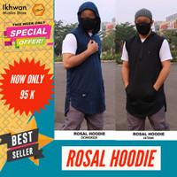 Rompi Sholat Rosal hoodie baju muslim pria koko kurta jubah gamis