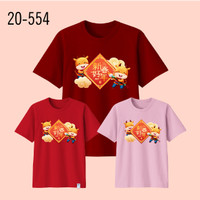 Kaos Imlek Bayi Anak Remaja Dewasa Oversize Family/Baju Kaos Sincia 28