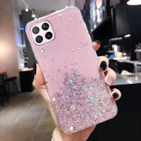 Samsung Galaxy A12 2020 Casing Soft Case Tpu Bahan Premium Glitter