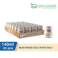 Susu Beruang Bear Brand Gold White MALT - 140 ml ( 1 KARTON ISI 24 KAL