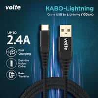 VOLTE KABO LIGHTNING Kabel Iphone / Lightning USB (100cm)